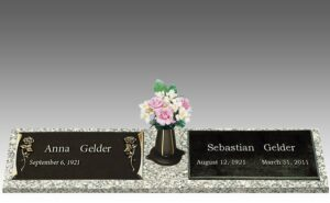 Grave markers can allow families peace of mind in knowing they can create a befitting tribute