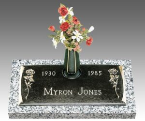 A grave marker can be purchased from other places other than the cemetery
