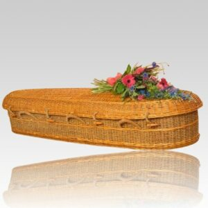 Green caskets help funeral homes who are concerned with the environment provide elegant memorial services